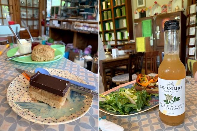 Thé à l'Ouest à Morgat, village de Crozon dans le Finistère