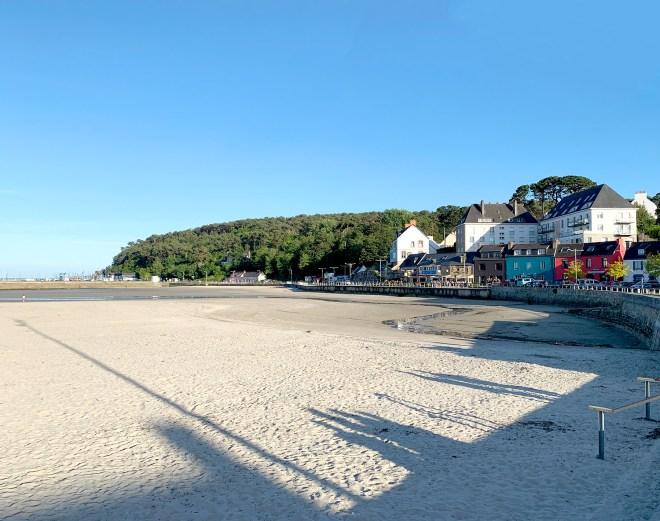 Village et plage de Morgat à Crozon