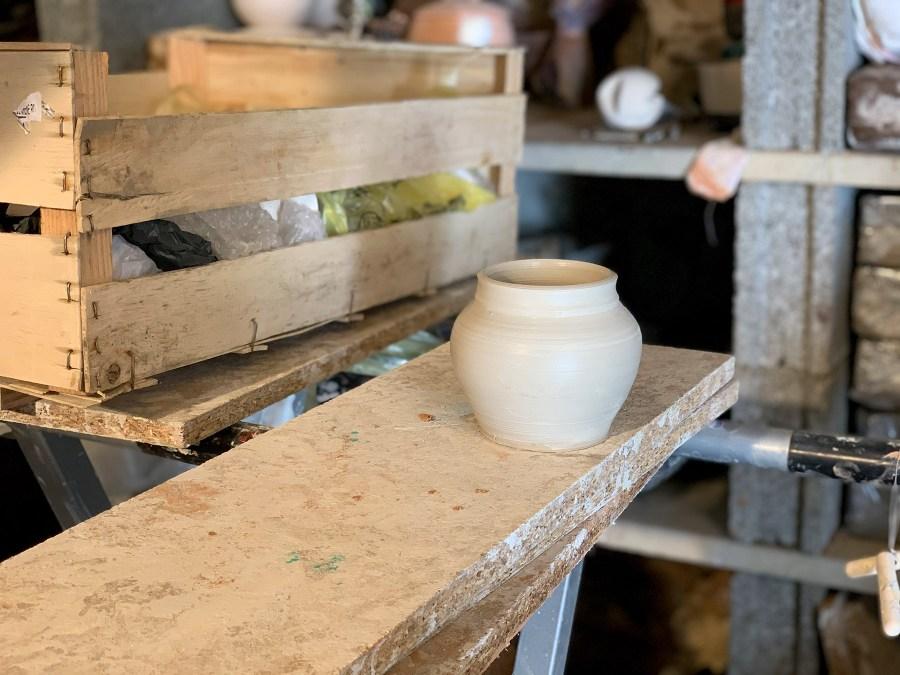 rencontre avec Magali Bruchet, dans son atelier de céramique et raku