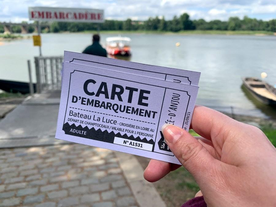 croisière commentée sur la Loire à bord de La Luce