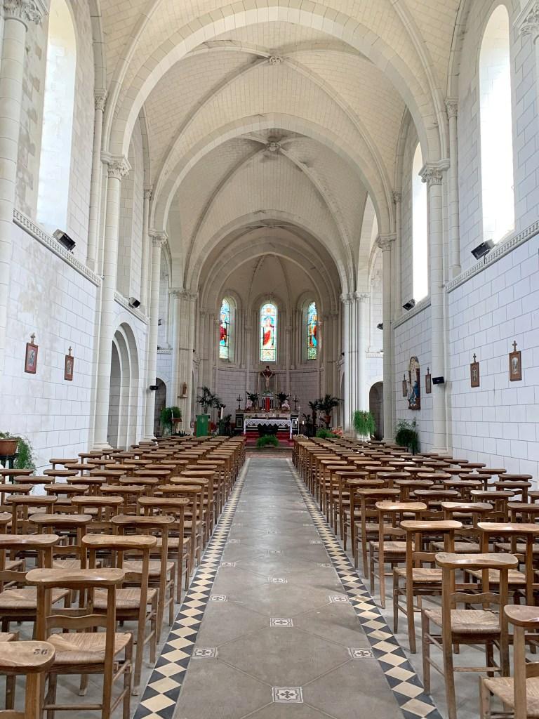 L'église de la Varenne en Anjou