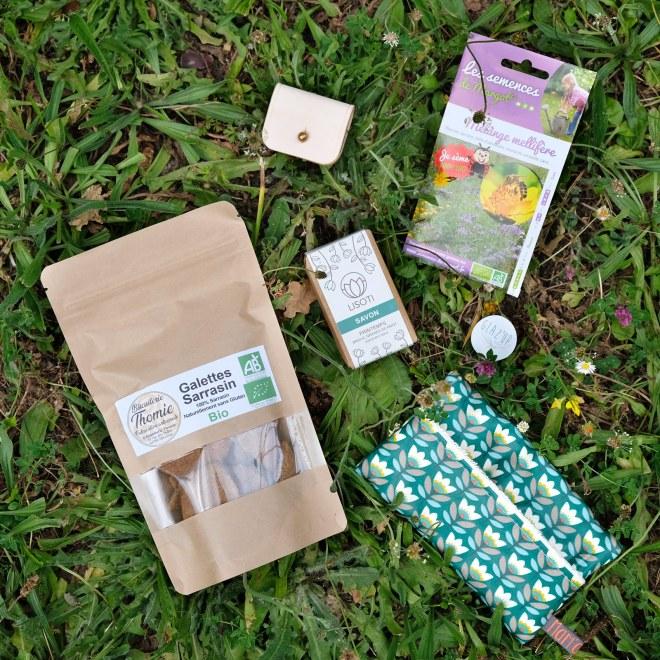 Mon avis sur la Glaz'up box, box durable et éthique de produits locaux autour de Nantes