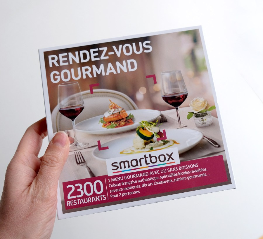 Test de la smartbox Rendez-vous gourmand
