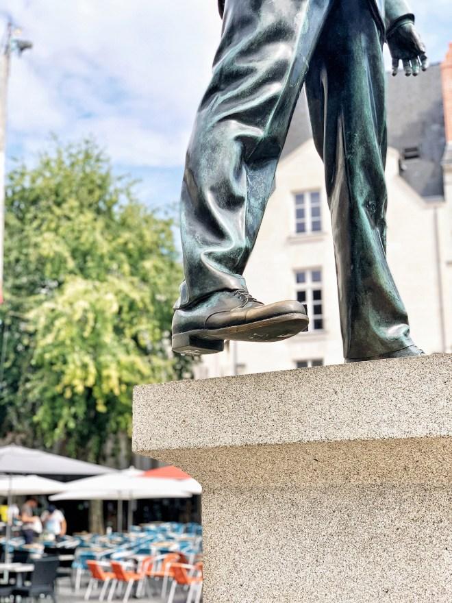 Eloge du pas de côté, oeuvre du Voyage à Nantes