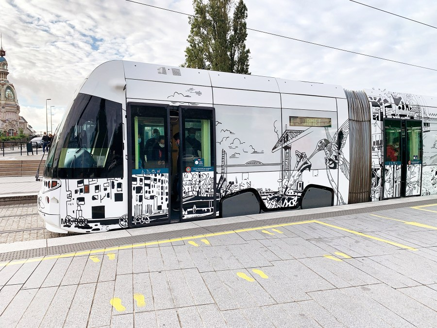 Voci della strada, oeuvre du Voyage à Nantes