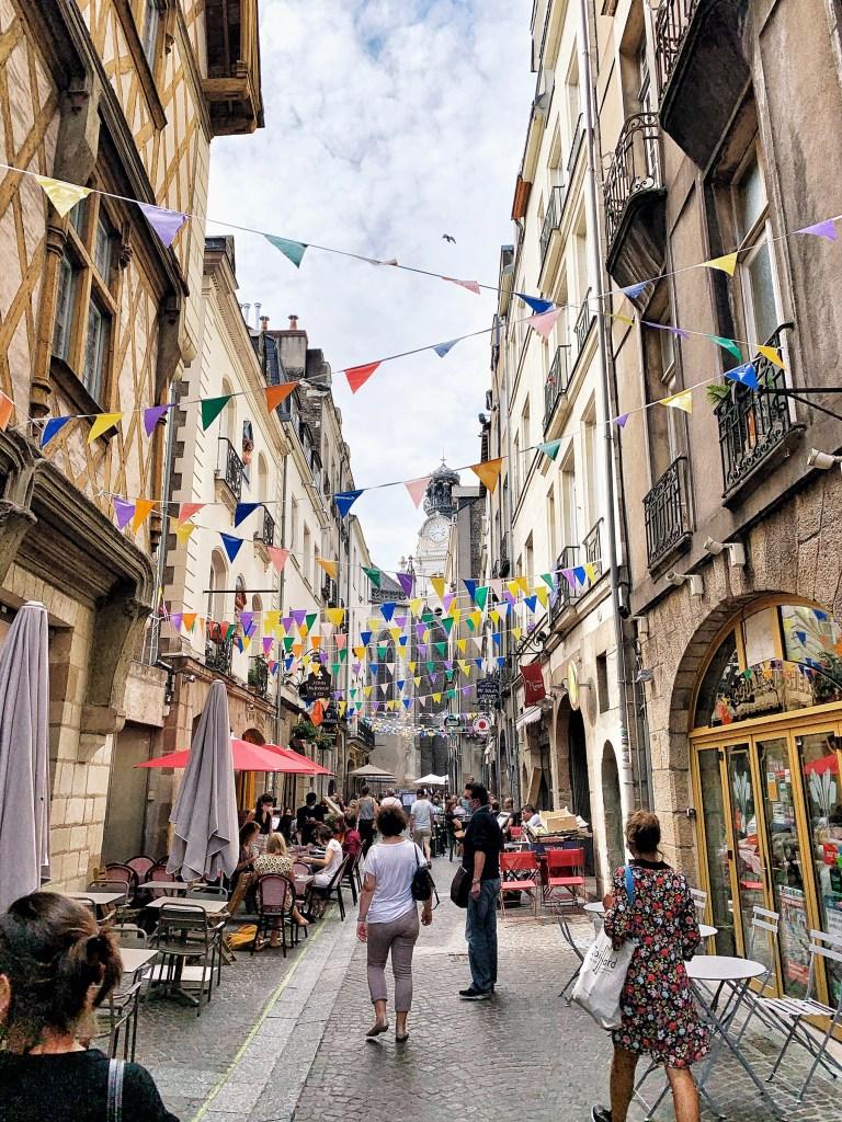 Quartier Bouffay à Nantes