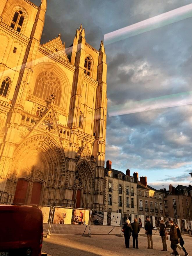 La cathédrale St pierre à Nantes