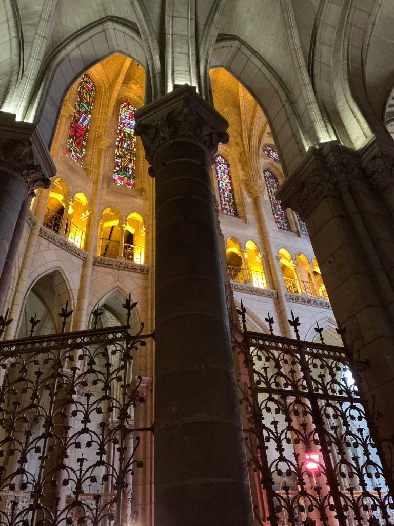 L'Eglise St Nicolas de Nantes en hiver