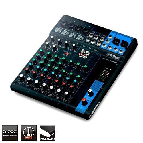 Console analogique 10 canaux Yamaha - Nantes Sono - Location de matériel de sonorisation de lumière et de vidéo à Nantes (44)