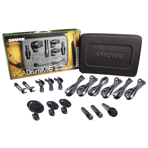 Malette 6 micros Shure pour batterie - Sono 85 - Sono Nantes - Location et Vente de matériel de sono de lumière et de vidéo