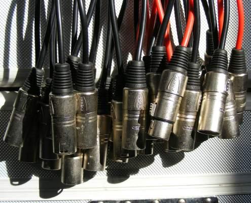 Câbles - Nantes Sono - Location de matériel de sonorisation de lumière et de vidéo à Nantes (44)