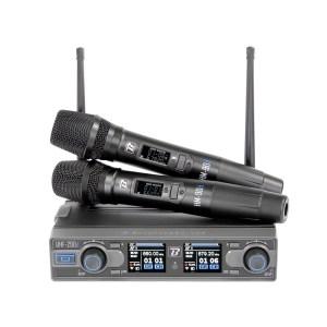 Système 2 Micros HF BOOMTONE DJ UHF 290 D - Nantes Sono - Location et vente de matériel de sono de lumière et de vidéo à Nantes (44)
