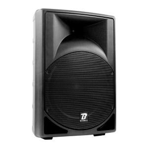 Enceinte Amplifiée BOOMTONE DJ MS15A MP3 300W RMS - Location et vente de matériel de sono de lumière et de vidéo à Nantes (44)