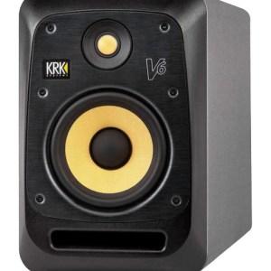 Enceinte de Monitoring KRK V6 S4 - Nantes Sono - Location et vente de matériel de sono de lumière et de vidéo à Nantes (44)