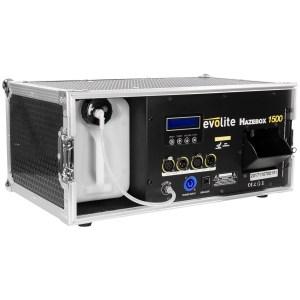 Machine à Brouillard Pro EVOLITE HazeBox 1500 - Nantes Sono - Location et vente de matériel de sono de lumière et de vidéo à Nantes (44) France