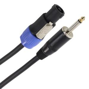 Câble HP 2 x 1.5mm² Jack Mâle - Speakon Mâle 15m PLUGGER Easy - Sono 85 - Sono Nantes - Vente de matériel de sonorisation de lumière et de vidéo - France