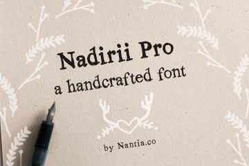 Nadirii Pro Font Handcrafted