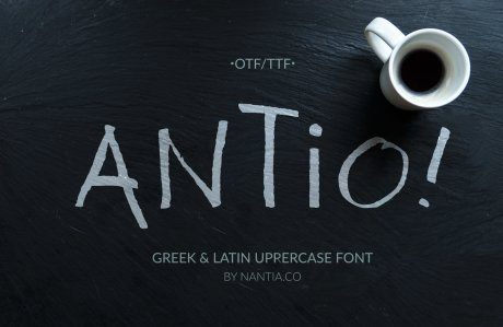 antio greek font