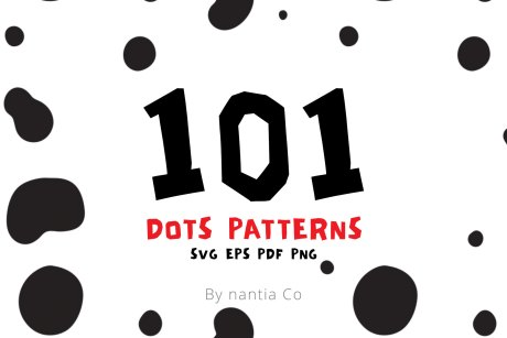 Dots Seamless Patterns Vector MegaPack