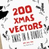200 Christmas Vector Bundle