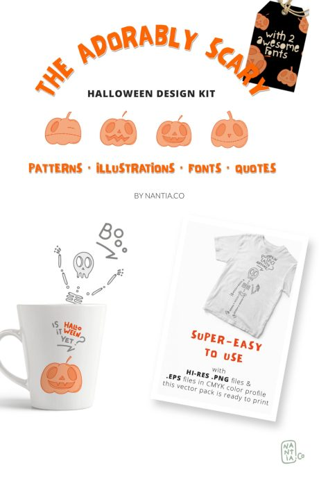 Adorably Scary Design Kit