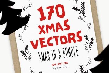 170 Items | Christmas Bundle