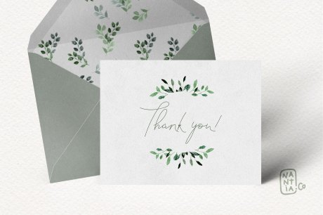 Watercolor Foliage Design Set