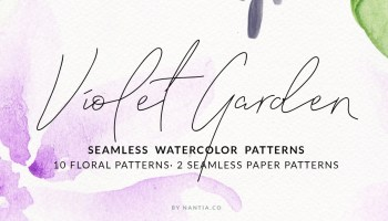 Emerald Gold Watercolor Wreaths ·