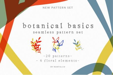 Botanical Basics Pattern Set