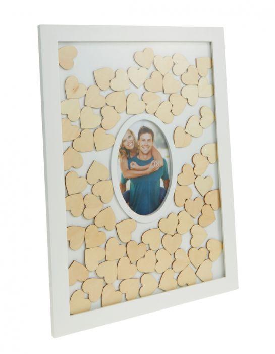 Gastebuch Alternative Zur Hochzeit Mit Holzherzen