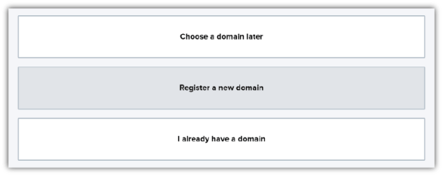 How to Register a New Domain