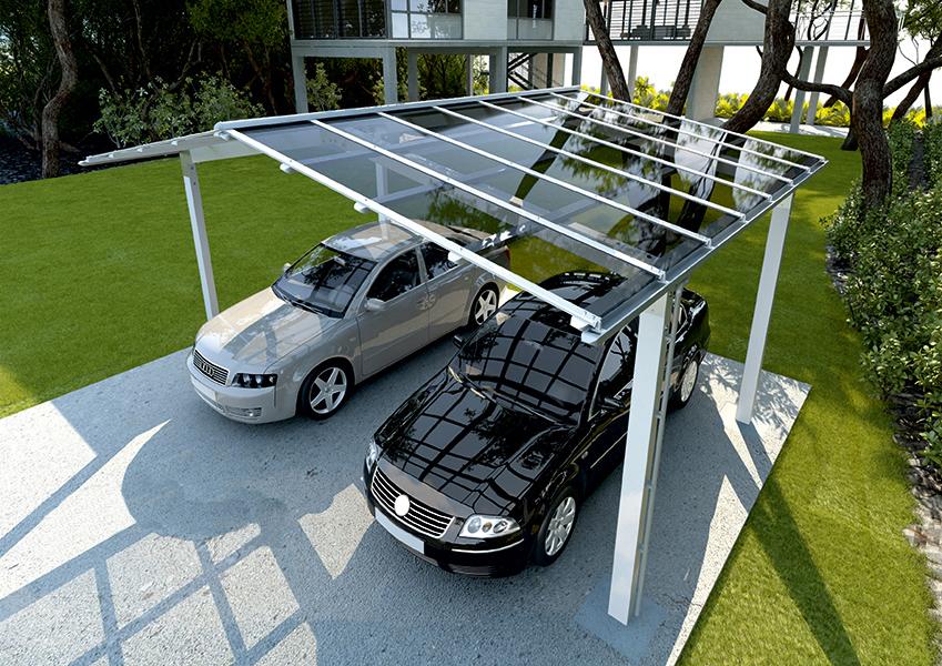 carport double aluminium sur mesure nao