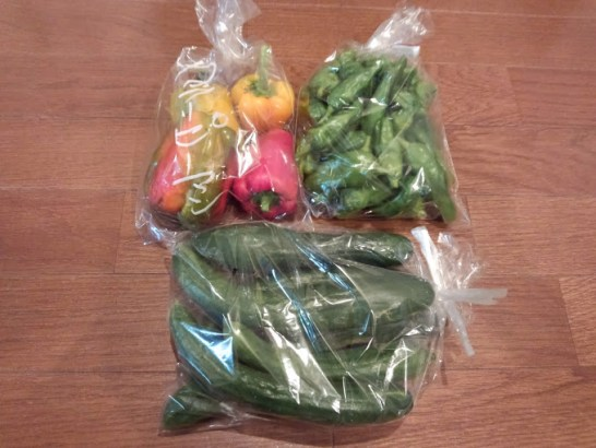 箕面の朝市より格安な野菜個人売買