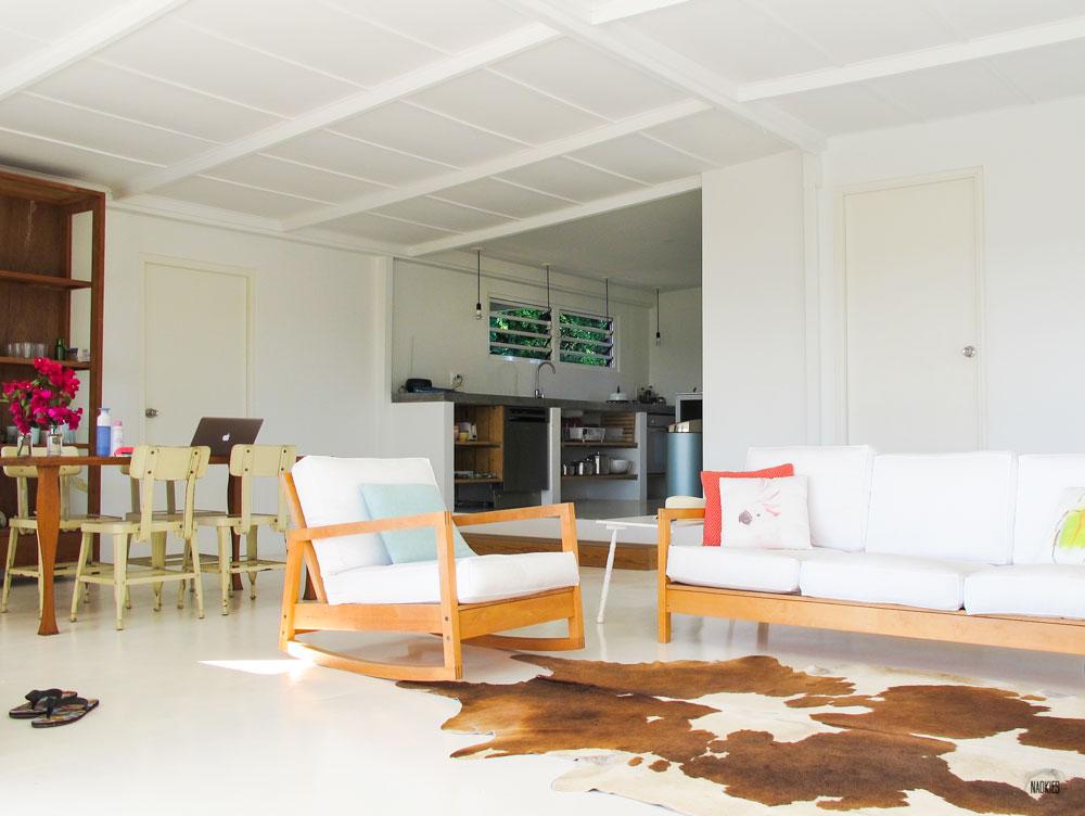 overzchtisfoto huiskamer Brakkeput Curaçao Air BnB