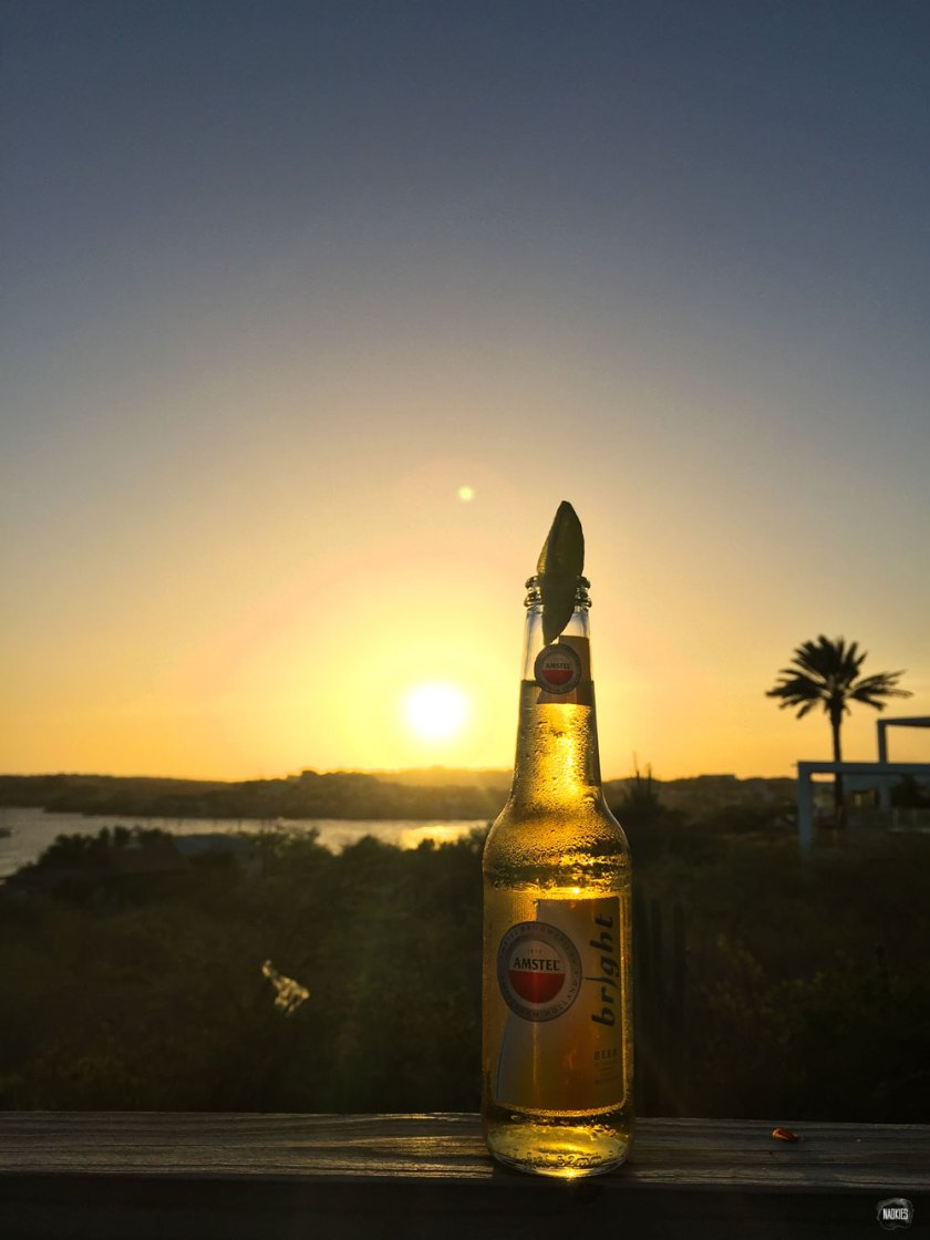 Amstel Bright sunset Curacao