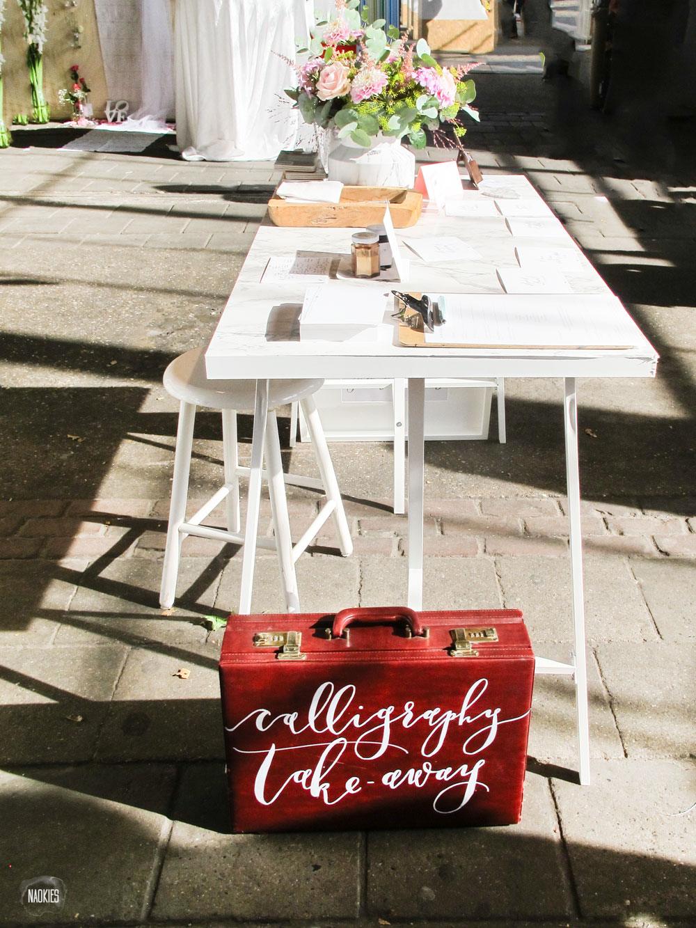 engaged_fair_delft_2016_calligraphy_table