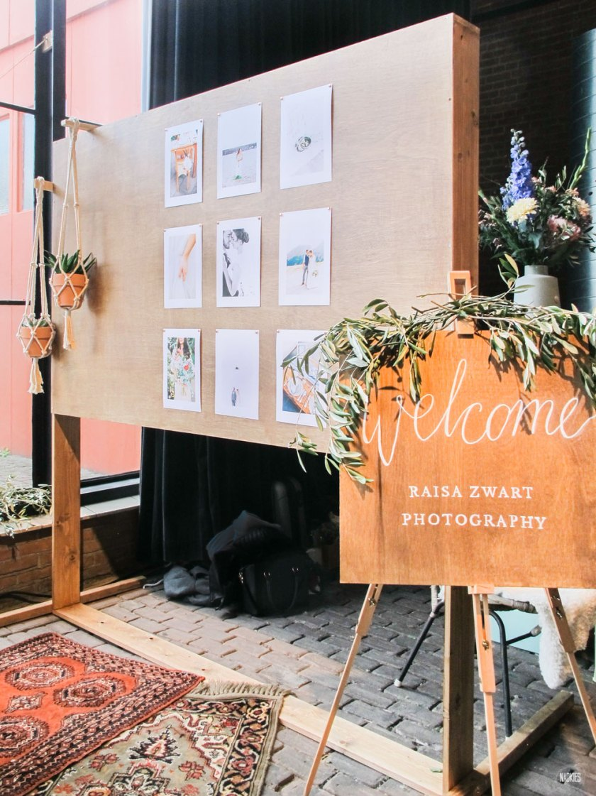 Stand van bruidsfotografe Raisa Zwart op Engaged 2016