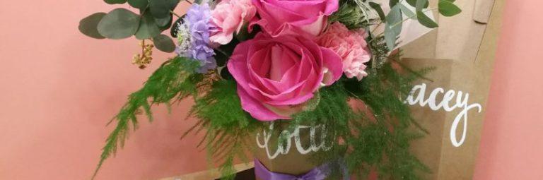 Gepersonaliseerd Valentijnscadeau Lola Dean floristry handlettering naokies