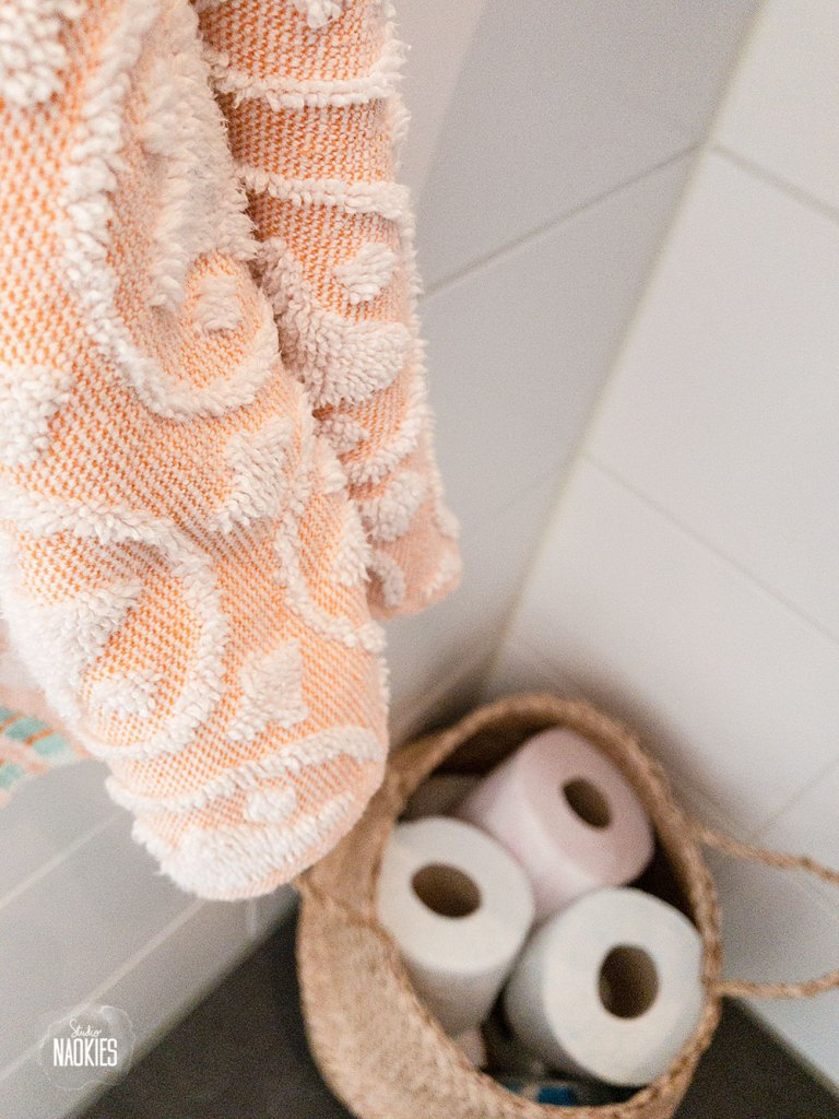 flamingo behang arte makeover styling toilet gastendoekjes studio naokies