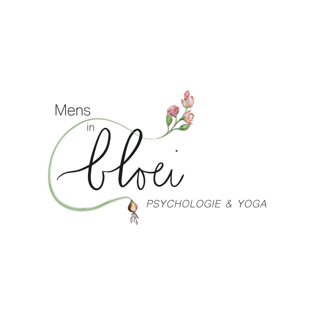 Logo ontwerp Mens in Bloei grafisch ontwerp illustratie studio Naokies