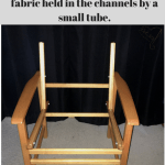 Replace The Fabric Of A Directors Chair Diy Slipcovers And Alterations