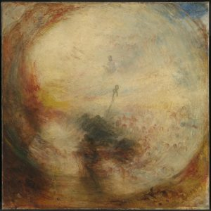 Light and Colour (Goethe's Theory) - the Morning after the Deluge - Moses Writing the Book of Genesis by Joseph Turner