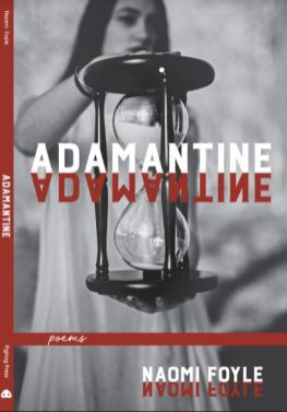 Cover image of Adamantine: a young woman holding an hourglass