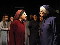 """Scene from Buenos Aires, Argentina production of """"Tribunal de Mujeres"""""""