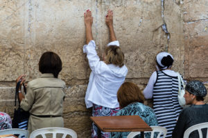 Women Praying at the Kotel