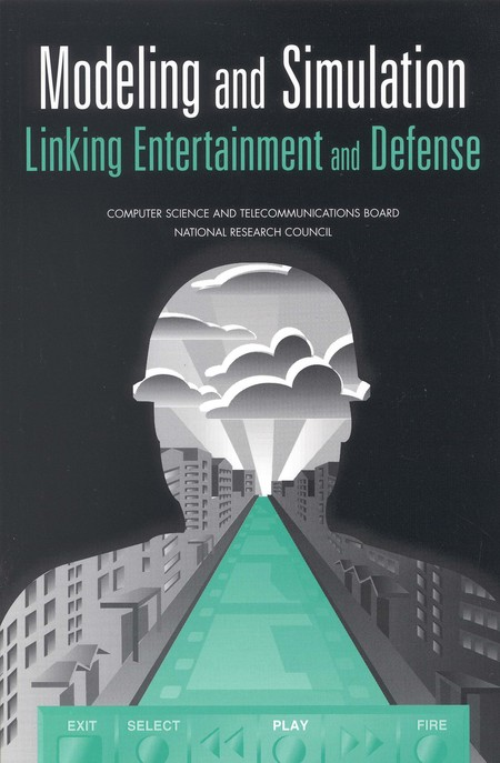 Modeling And Simulation Linking Entertainment And Defense