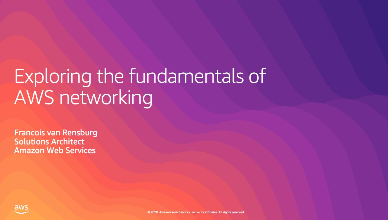Exploring Fundamentals of AWS Networking