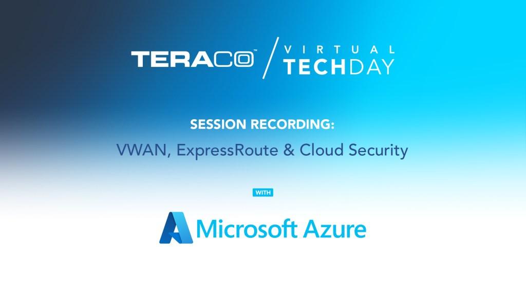 Teraco Tech Day | Microsoft Azure