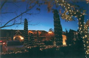 The Town of Yountville Festival of Lights