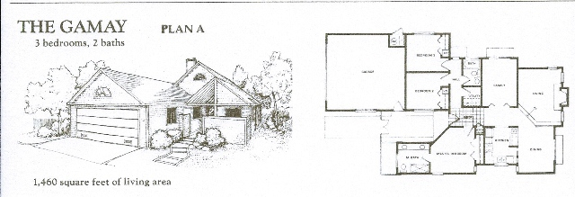 Yountville, Vintage Subdivision, Gamay floorplan